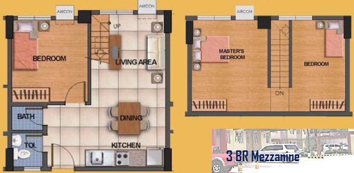 Index of pictures fini homes valenzuela condo near lrt 1 for Mezzanine plan